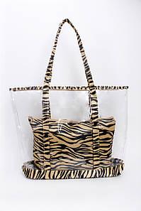 Шоппинг сумка Адия коричневая