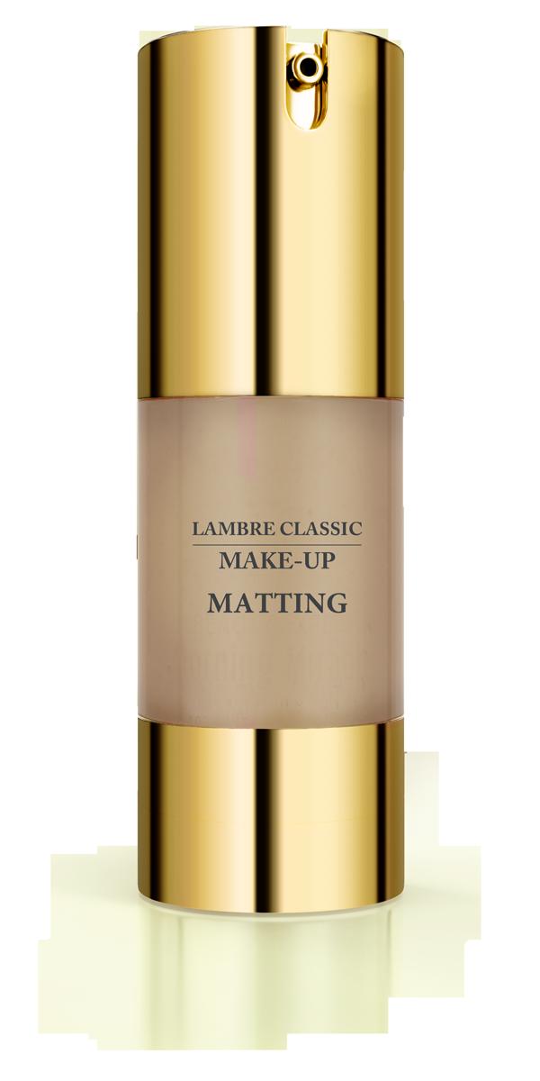 Матирующая тональная основа MATTING MAKE-UP Gold №7 Насыщенный загар 30 мл
