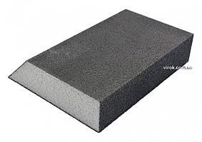 Губка шлифовальная трапециевидна VOREL Р220 125 х 90 х 65 х 25 мм