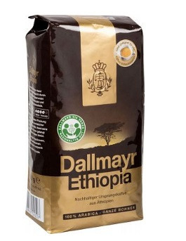 Кофе Dallmayr Ethiopia в зернах 100% arabica 500 г