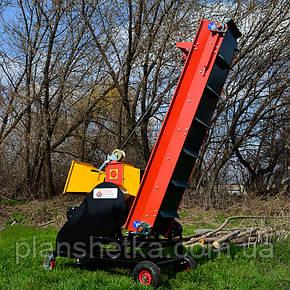 """Измельчитель веток """"Shkiv"""" с транспортером и дизельным мотором, 14 л.с. (диаметр веток 120 мм), фото 2"""