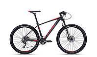 """Велосипед горный27.5"""" CTM Caliber 2.0 (черный с красным)рама 17"""""""