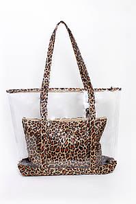 Шоппинг сумка Лира коричневая