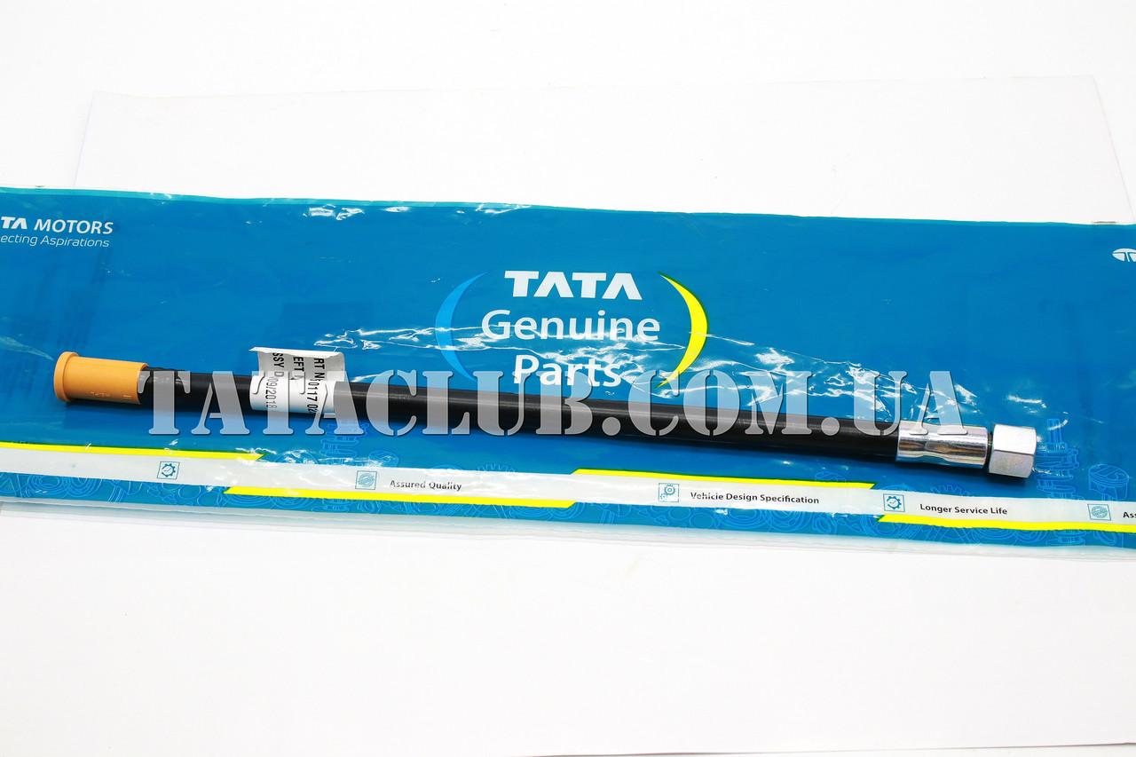 Труба масляного щупа (без гайки и втулки) (613 EII, 613 EIII, 1618EIII,407) TATA MOTORS / ASSY. TUBE DIPSTICK
