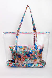 Шоппинг сумка Заира розовая