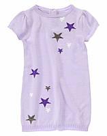 Детское вязаное платье. 18-24 месяца, 2 года