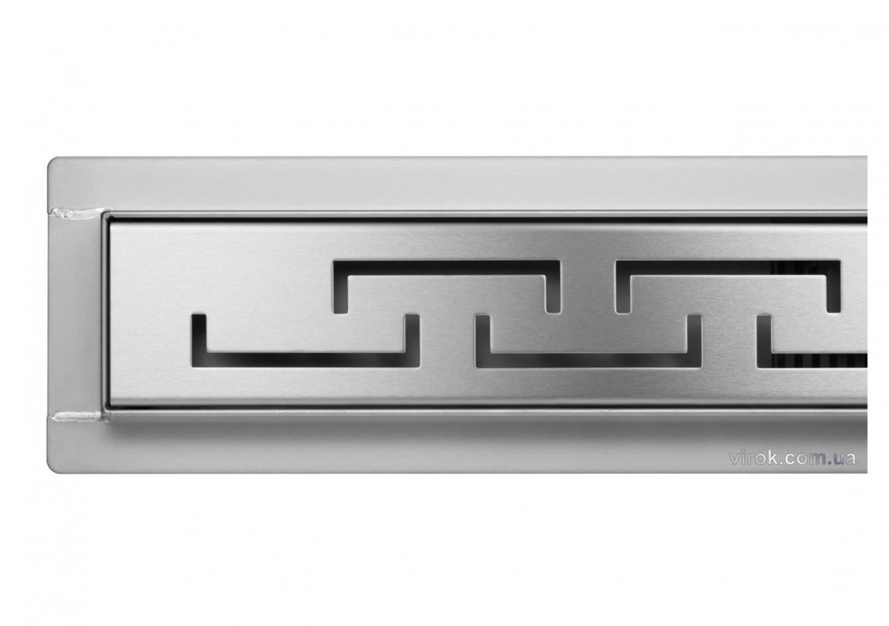 Трап для душа FALA OLIMP с нержавеющей стали 70 х 7 х 7 см