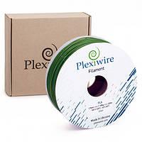 PLA пластик Plexiwire для 3D принтера 1.75мм зеленый (400м / 1.185кг)  (7567567)