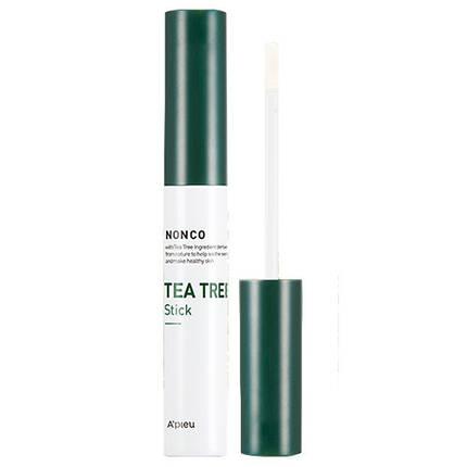 Стик с маслом чайного дерева для проблемной кожи A'PIEU NonCo Tea Tree Stick, 8 мл, фото 2