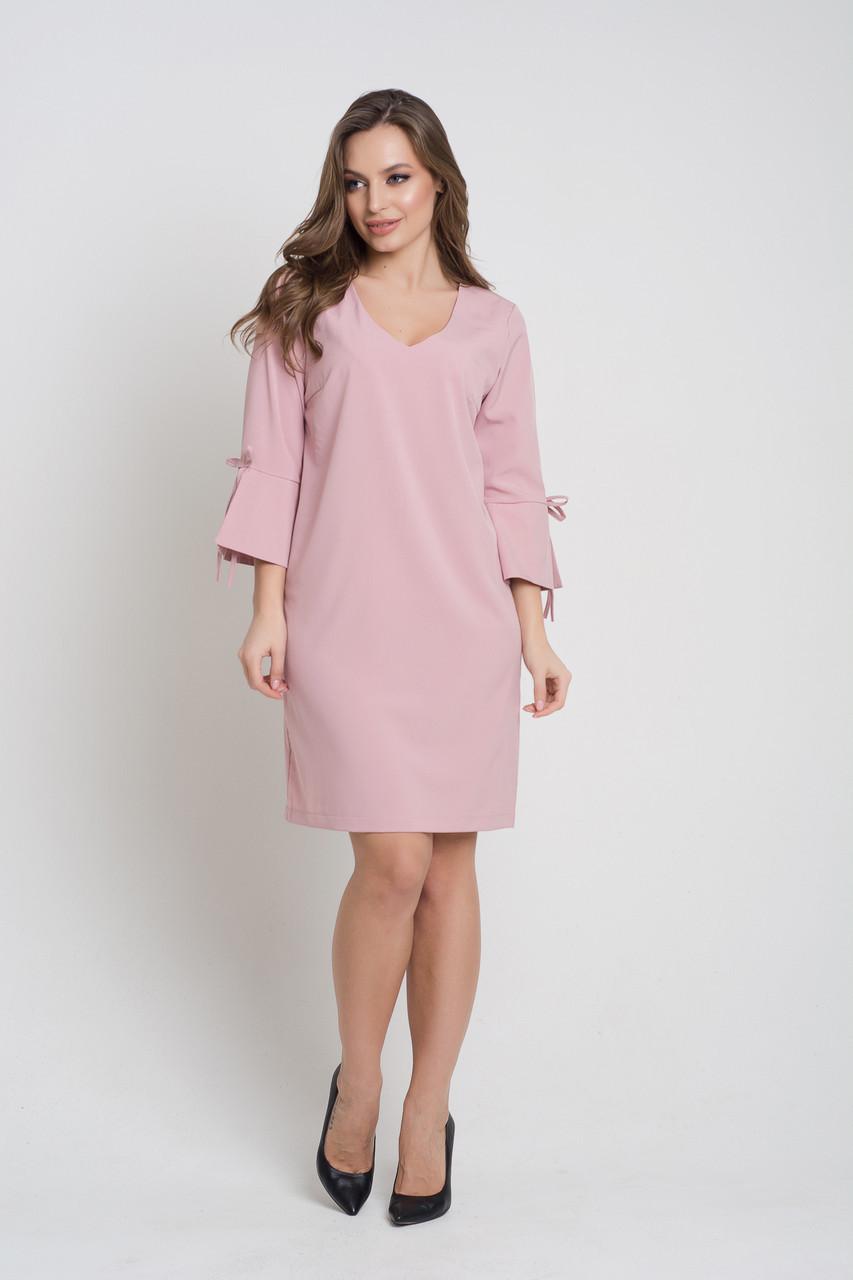 Платье K&ML 512  розовый 46