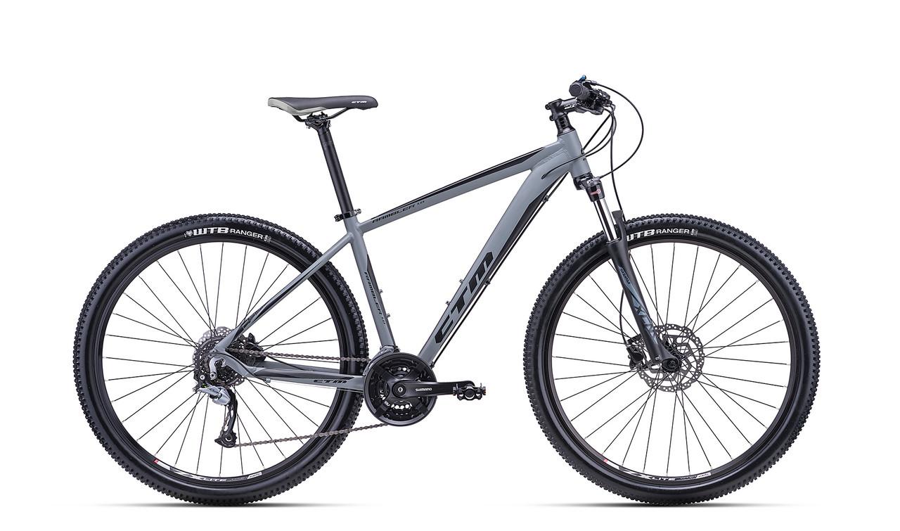 """Велосипед горный CTM Rambler 1.0 (matt grey/black)(29"""") 18"""""""