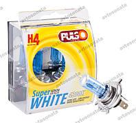 Галогенка H4 PULSO 12V 100/90W LP-42191 Super White пластик