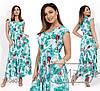 Сукня жіноча максі (2 кольори) - Ментол PY/-0187