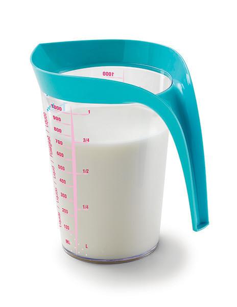 Мерный стакан 1 л, бирюза