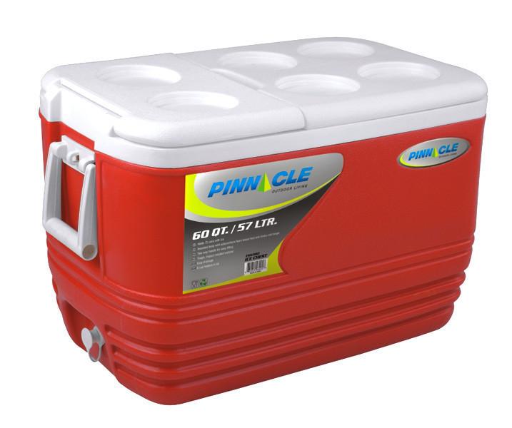 Изотермический контейнер Pinnacle Eskimo 57 л (Красный)