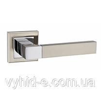 Ручка дверная нажимная Grotti A-2004 квадрат