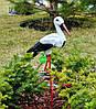 Садовая фигура Семья садовых аистов №18, фото 3