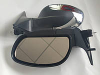 Зеркала наружные ВАЗ 2110 ЗБ-3298-10П Black антиблик с указ.пов., фото 1