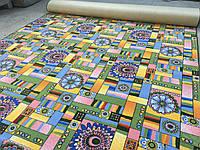 Детский ковролин орнамент  2м 2,5м 3м 4м