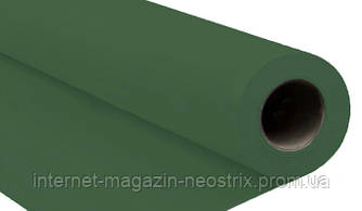 Студийный бумажный фон Visico 1,35х5 м (зеленый) 2104A