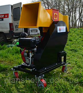 """Измельчитель веток с дизельным двигателем 14 л.с. диаметр веток 120 мм """"Shkiv 2В120Д"""" , фото 2"""