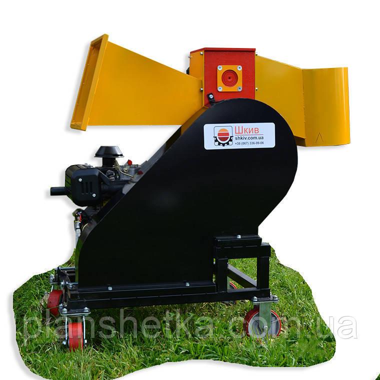 """Измельчитель веток с дизельным двигателем 14 л.с. диаметр веток 120 мм """"Shkiv 2В120Д"""""""