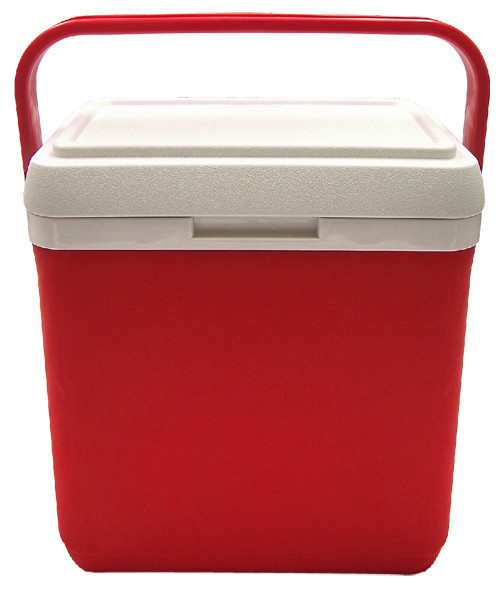 Изотермический контейнер Mega 30 л (Красный)