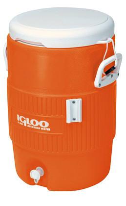 Изотермический контейнер Igloo 5 Gallon Seat Top (18.9 л) Оранжевый