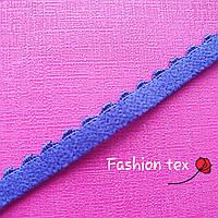 Отделочная резинка синего цвета 6 мм