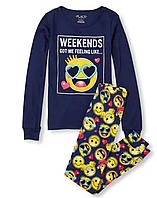 Пижама Детская The Children`s Place Светится в Темноте 110 см Синий L2018497