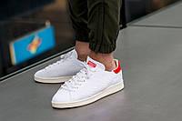 """Кеды Adidas Stan Smith OG Primeknit """"White/Red"""", фото 1"""