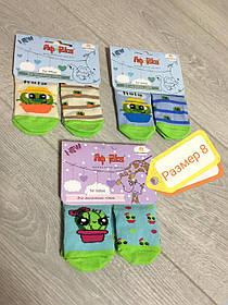Шкарпетки дитячі демі Африка р 8, різні кольори