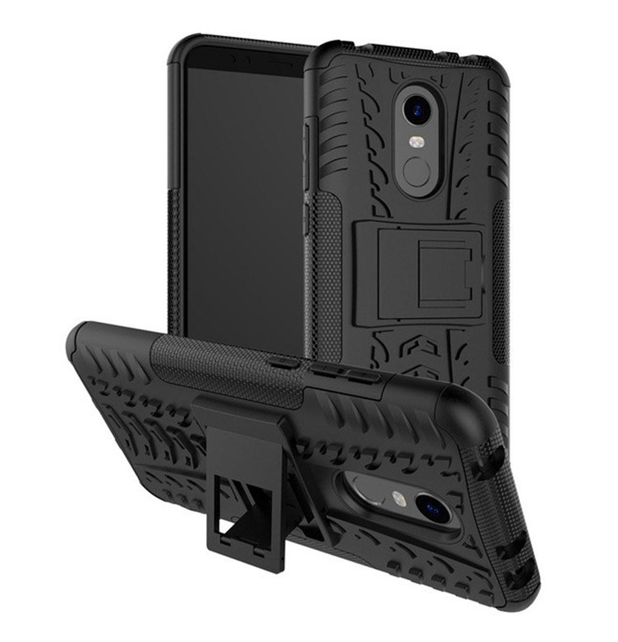 Противоударный двухслойный чехол Shield для Xiaomi Redmi 5 Black
