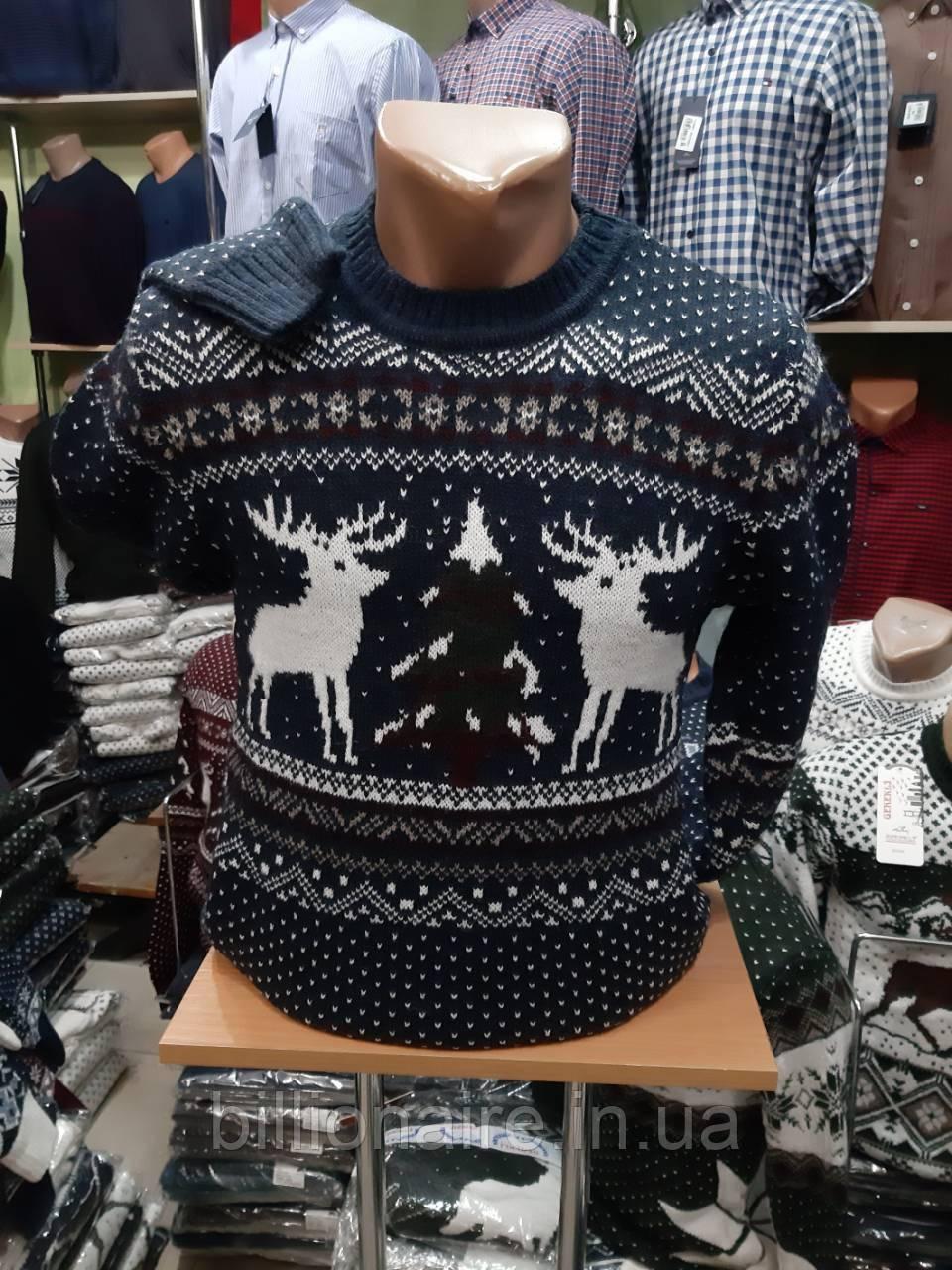 Новорічний светр з оленем 5
