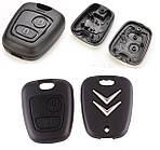 Корпус ключа Citroen C1 ключ ситроен ц1
