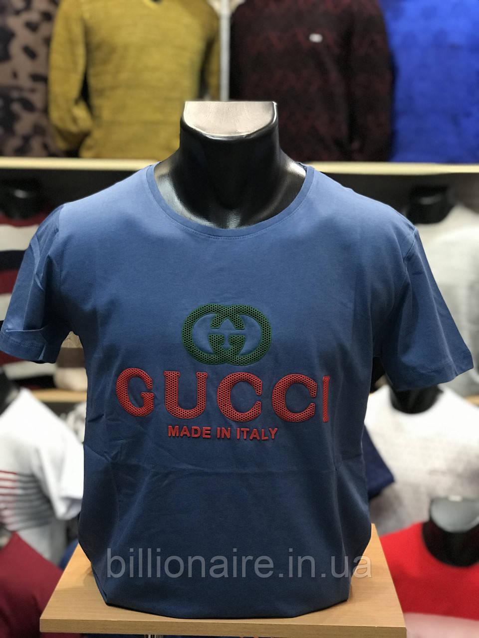 Футболка Gucci Репліка 2 Синій