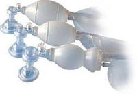 Мешок АМБУ к-т Новорожденный многоразовый, силикон, 2 маски, кейс