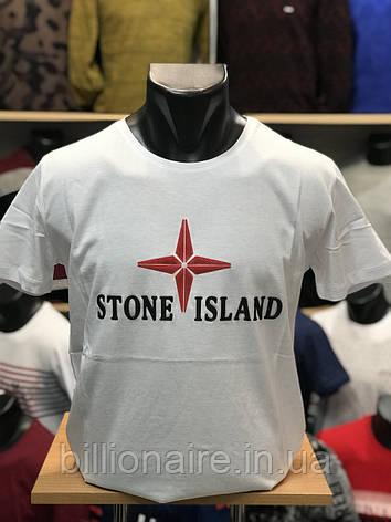 Футболка Stone Island Білий, фото 2