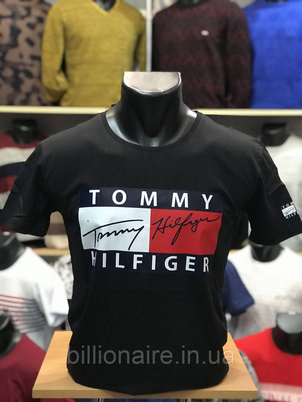 Футболка Tommy Чорний
