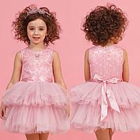 Пышное розовое платье zironka