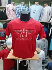Футболка чоловіча Armani Репліка Jeans 2, фото 2