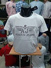 Футболка чоловіча Armani Репліка Jeans 2, фото 3