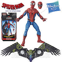 Человек Паук оригинал Hasbro Marvel SPIDER-MAN 16 см.