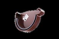 Заглушка желоба правая 130 мм. Водостоки пластиковые Profil