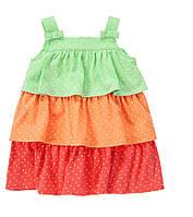 Летний сарафан для девочки. 12-18 месяцев