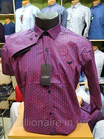 Сорочка Armani Репліка Фіолетовий, фото 2