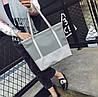 Стильная повседневная сумка шоппер, фото 6