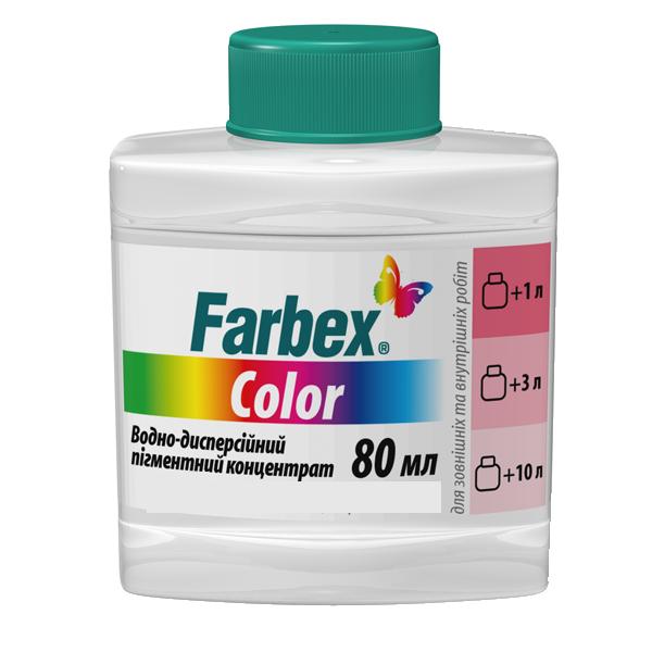 """Водно-дисперсионный пигментный концентрат """"Farbex color"""" бежевый 80мл"""