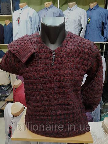 В'язаний светр Бордо, фото 2