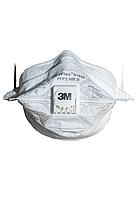 Респиратор маска 3M™ 9162 V VFlex FFP2 с клапаном выдоха, фото 1